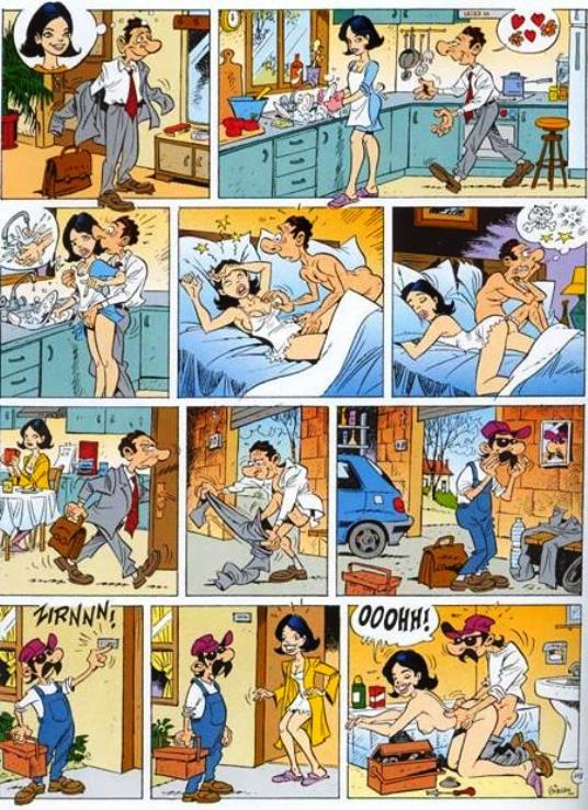Комиксы смешные секс